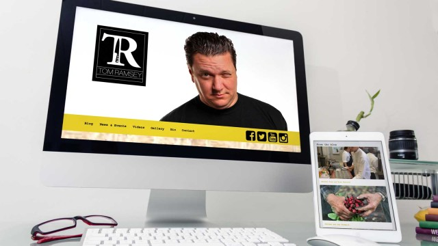 Tom Ramsey Site Design