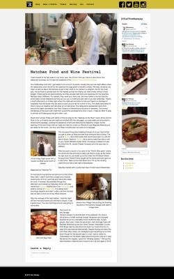 Tom Ramsey Blog Entry