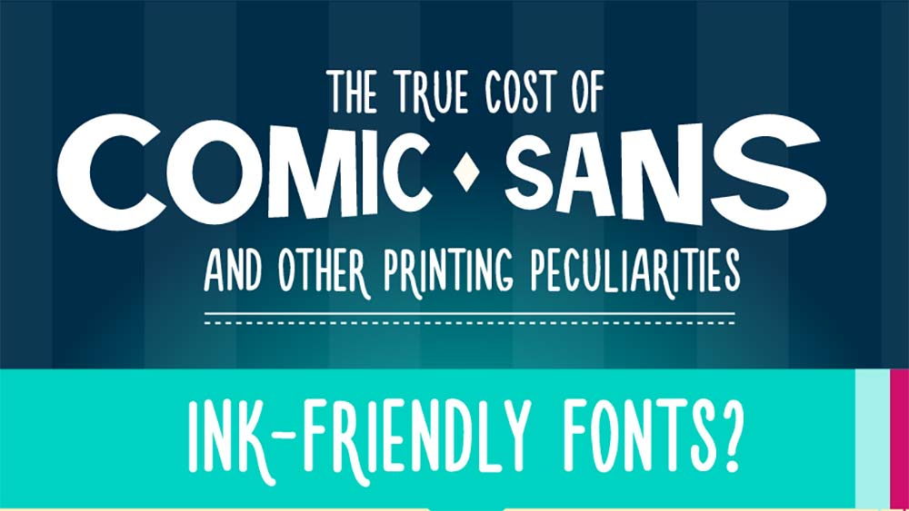 The true cost of comic sans