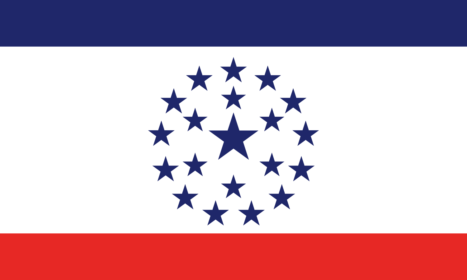 Proposed Flag for the state of Mississippi by Knol Aust